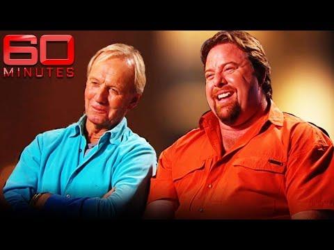 Aussie Actors Shane Jacobson And Paul Hogan | 60 Minutes Australia