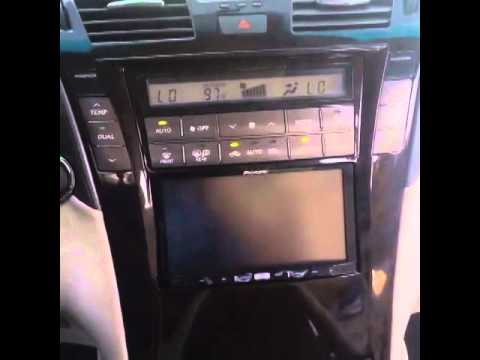 LEXUS LS460 Custom Dash W/ Nav Head Unit