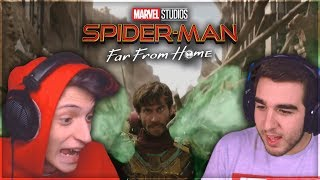 ZANO & JIMMY   Spider-Man: Far From Home - TRAILER REACTION