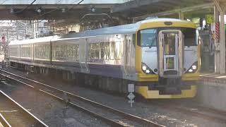 1/13 成田駅にて、臨時快速列車の撮影です