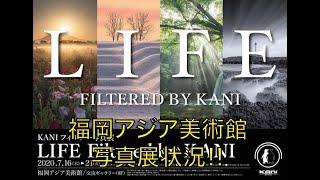 KANIフィルター写真展 福岡アジア美術館 7/16-21