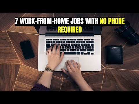 7 Work-From-Home Jobs with No Phone Required - YouTube