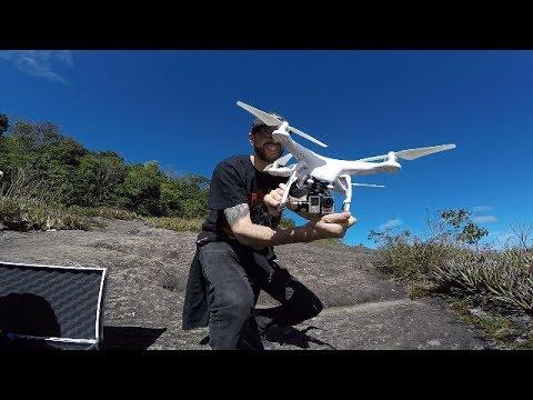 SUBIMOS 2.200 METROS COM MUITA AVENTURA  E LEVAMOS O DRONE!