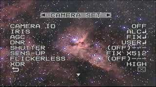 'Live' Video Astronomy with Samsung SCC-A2333