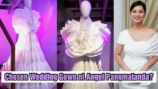Silipin ang Wedding Gown na Pinili ni Angel Locsin para sa Nalalapit nilang Kasal ni Neil Arce