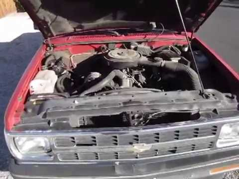 1991 Chevy S10 Pickup 2 8L-V6 & 5-speed start_run_drive
