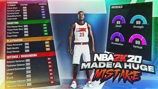 YOU NEED TO MAKE THIS BUILD BEFORE IT GETS PATCHED! THE BIGGEST MISTAKE IN NBA 2K20! NOT A JOKE!!