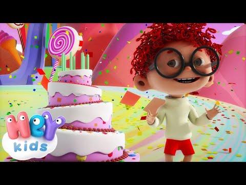 Tanti Auguri A Te - Buon Compleanno canzone per bambini + karaoke