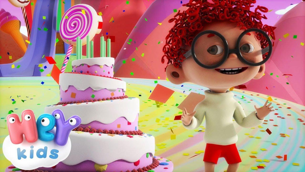 spesso Tanti Auguri A Te - Buon Compleanno canzone per bambini + karaoke EL96