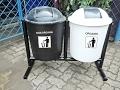 081310045708 - Tong sampah fiberglass   tempat sampah organik dan nonorganik