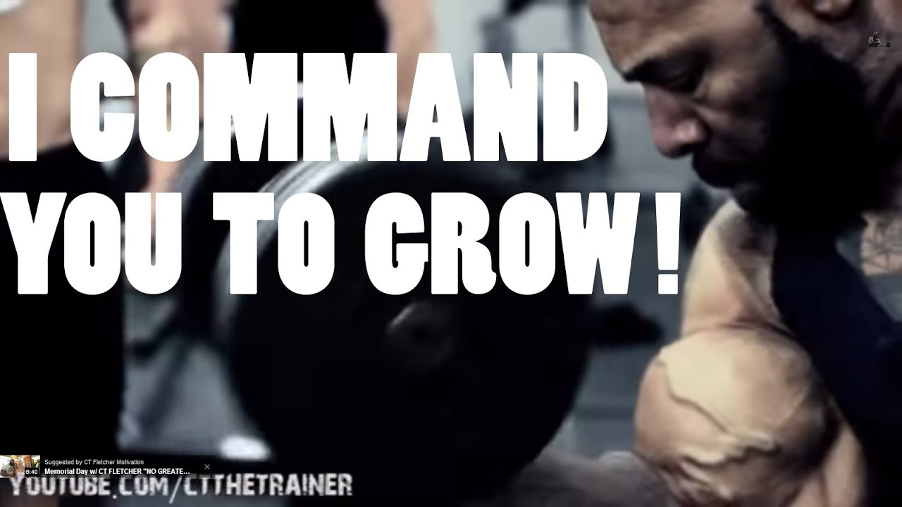 I Command you to Grow! Biceps/Arm Day with CT Fletcher