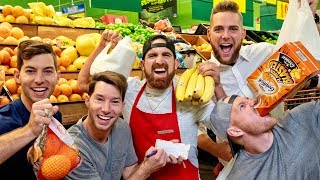 Grocery Store Stereotypes! Love em' or hate em', we all know em' ▻ Click HERE to subscribe to Dude Perfect! http://bit.ly/SubDudePerfect ▻ Click HERE to ...