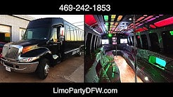 32 Passenger PARTY BUS - Limo Party DFW.com