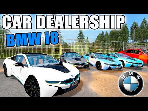 NEW LUXURY VEHICLE | BMW i8 + HUMMER H2 | CAR DEALERSHIP | FARMING SIMULATOR 2017