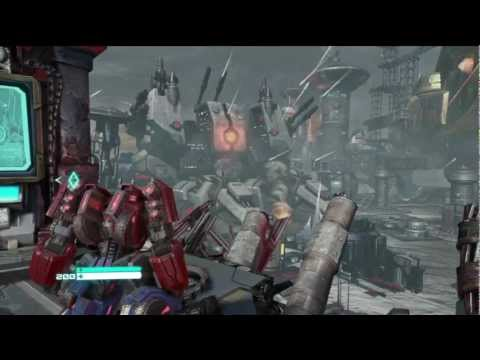 Transformers: Fall of Cybertron Easter Egg - Metroplex's Vehicle Form Was Always There