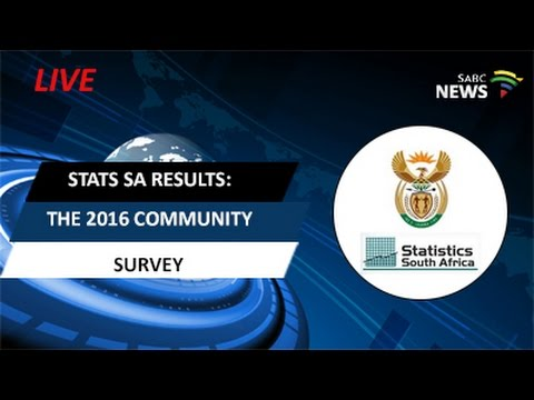 Stats SA releases the 2016 Community Survey results