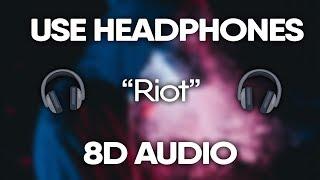 XXXTENTACION - Riot (8D AUDIO) 🎧