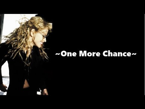 Anastacia - One More Chance [lyrics]
