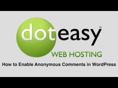 How to Enable Anonymous Comments in WordPress
