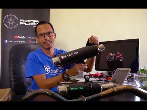 SAKURA Exhaust Untuk Motosikal Yamaha Pengenalan - Roda Pusing Jualan