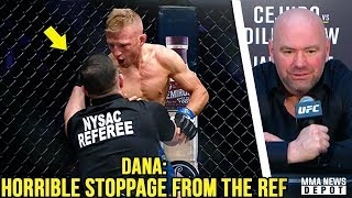 UFC Pros react to TJ Dillashaw vs Henry Cejudo; TJ demands rematch at 125; Dana on Greg Hardy; Conor