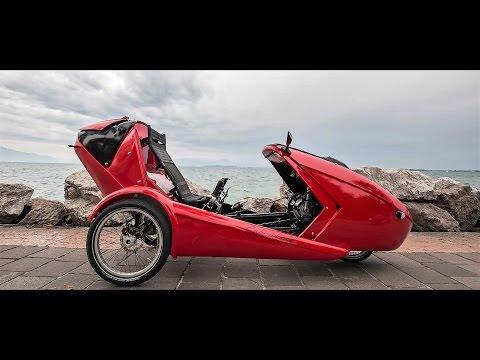 Cabriovelo: versatile convertible E-bicycle car. Crowdfunding INDIEGOGO