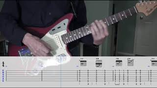 The Ventures - Walk, Don't Run - Guitar Cover With Tabs