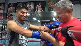 Mikey Garcia Fight Week for robert eatser jr EsNews Boxing