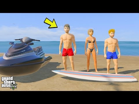 GTA 5 REAL LIFE TEEN MOD #36 SWIMMING ADVENTURES! (GTA 5 Mods)