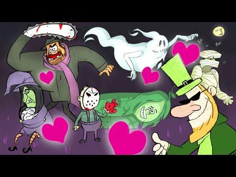 ЛЮБОВЬ С ПЕРВОГО МОНСТРА ► Монстр ищет монстра в JackBox Party Pack 4