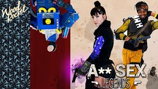 "Apex Legends Porn Parody: ""A** Sex Legends"" (Trailer)"