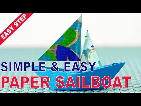 The Best Way To How to make a Paper Sailboat Craft