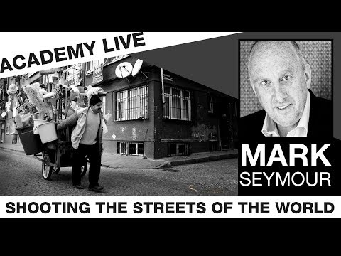 ACADEMY LIVE | Mark Seymour - Shooting the Streets of the World