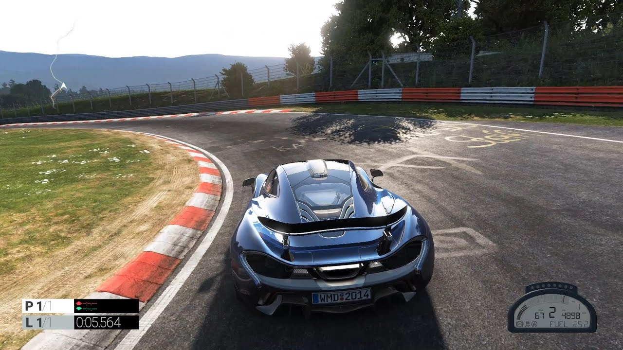 Project Cars Mclaren P1 Nurburgring Youtube