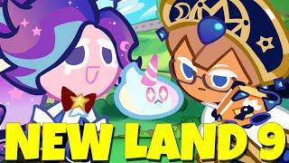 CROB NEW LAND 9 UNICORN BLUEBERRY PIE CookieRun Ovenbreak