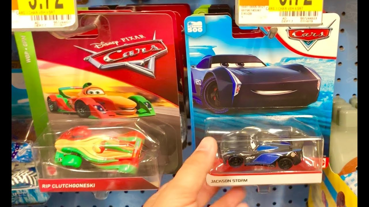 Disney Cars Toy Hunt - Travel Toy Hunt Show Day 2 - Our Car Got a FLAT  Tire! What happen NEXT?