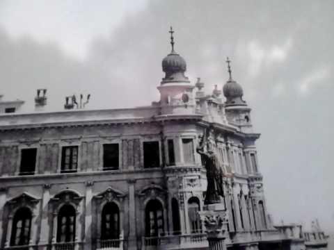 Plaza Cagancha en Montevideo, imágenes de historia.