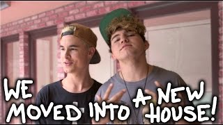 WE MOVED INTO A NEW HOUSE!!! // KianAndJc