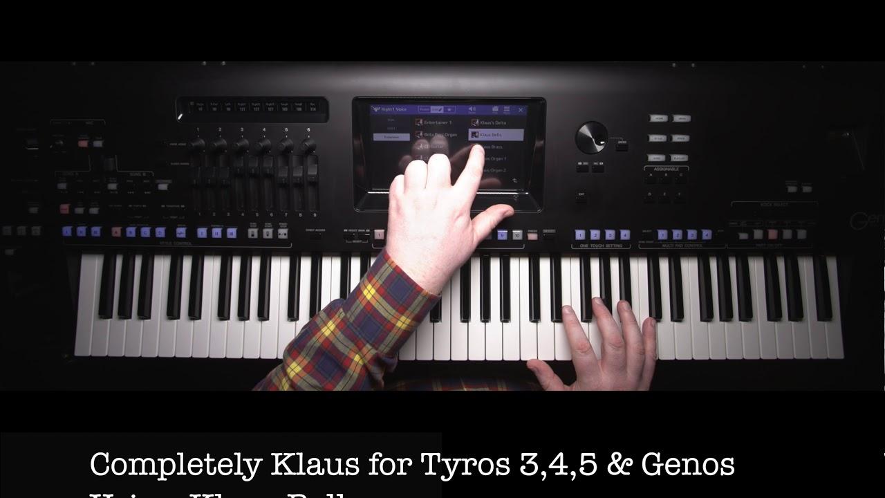 Completely Klaus Soundpacks for Tyros3, Tyros4, Tyros5 & Genos