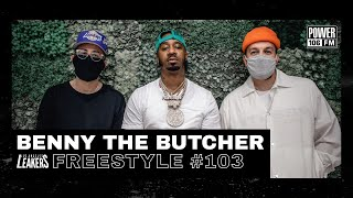 Benny The Butcher Freestyle w/ The L.A. Leakers - Freestyle #103
