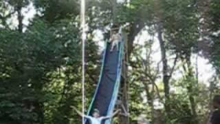 Homemade 3 Story Tall 200 Feet Long Slip 'n Die (Full Video)