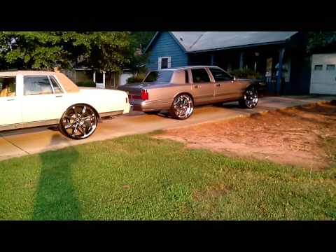 K Ozz S Lincoln Town Car On 24 S Doovi