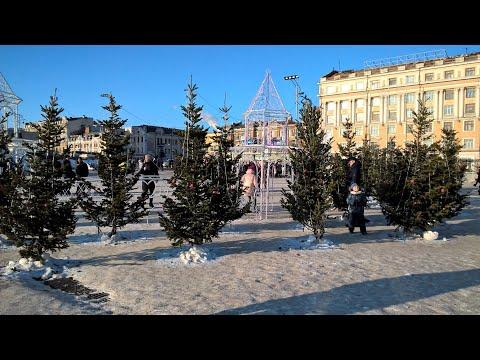 Площадь 1 января 2020 г. Владивосток