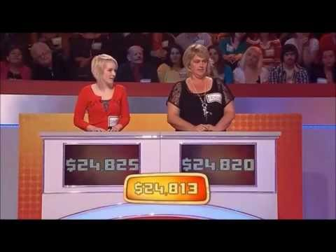 Price Is Right Australia Premiere - 7 May 2012 (no ads during show)