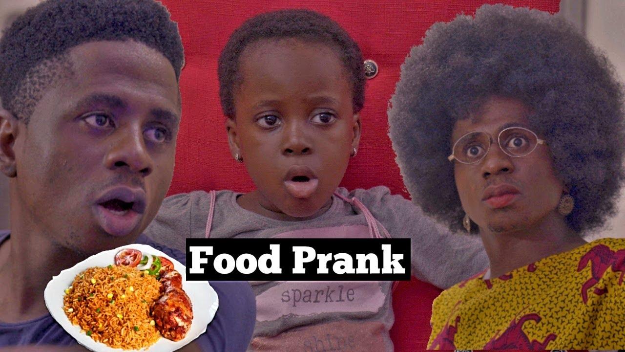 FOOD PRANK | Mc Shem Comedian