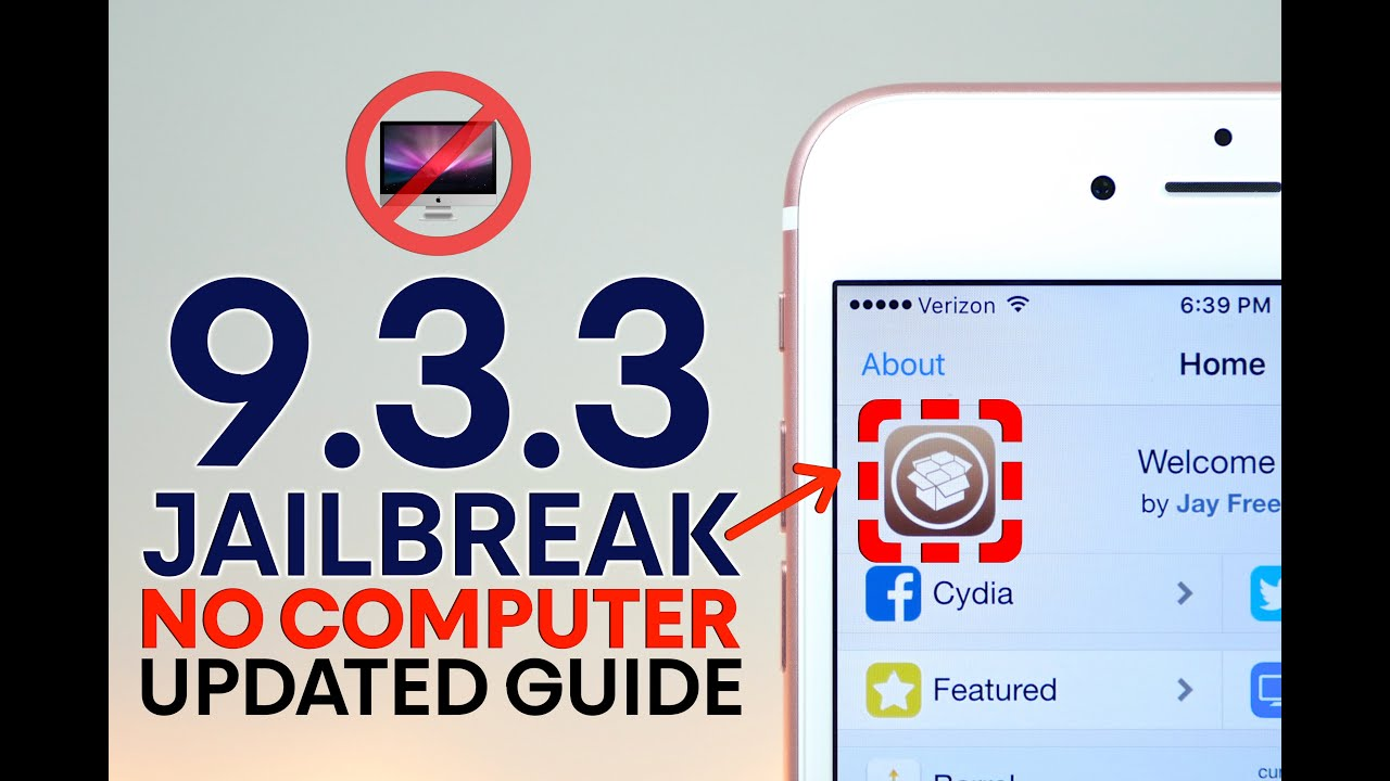 iOS 9.3.3 Jailbreak NO Computer! Updated Guide