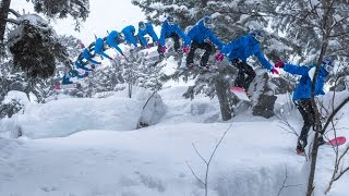 Marcus Kleveland Backcountry Snowboarding in Fresh Powder