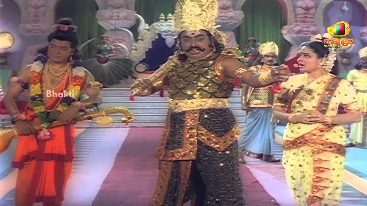 Sri Devi Mookambika Movie Scenes - Chandra asks Kaumasura ...