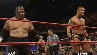Download Triple H vs. Randy Orton & Umaga (1/2) Mp3 and Videos