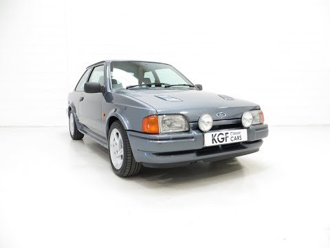 A Collectors Ford Escort RS Turbo Series 2 with One Owner and 27,886 Miles - SOLD!